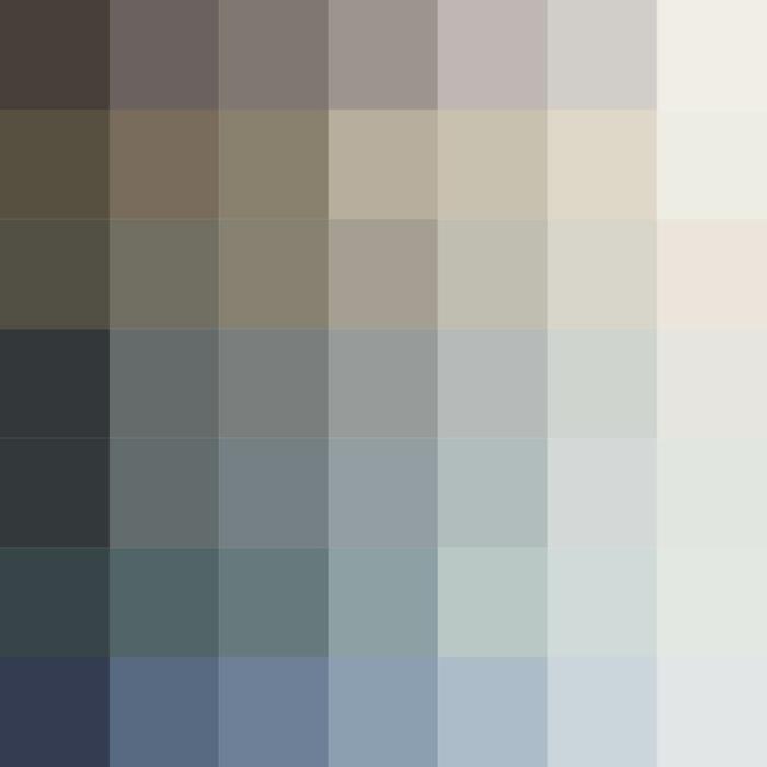idées de combinaisons de la couleur taupe