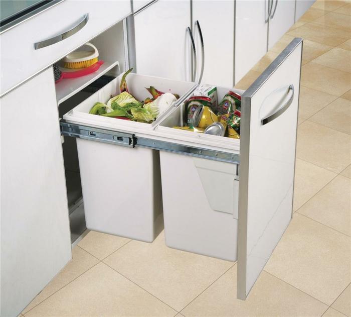 proposition d'une poubelle cuisine encastrable