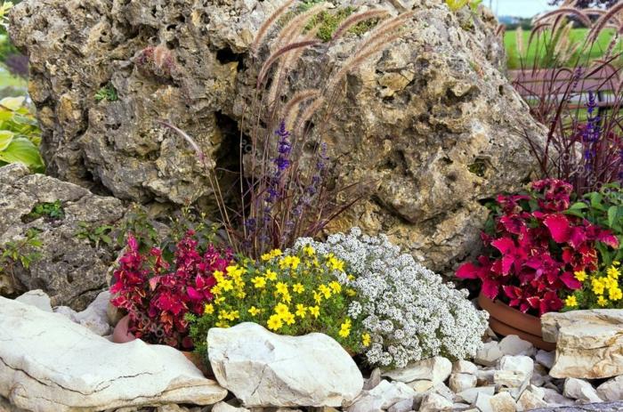 crer une rocaille ides et astuces pour crer votre propre jardin de rocaille jardin de rocaille. Black Bedroom Furniture Sets. Home Design Ideas