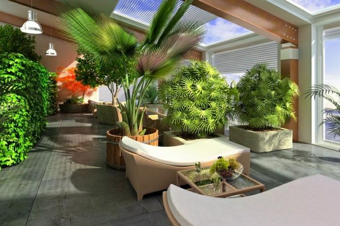 jardin d'intérieur appartement