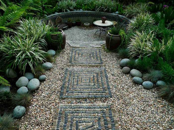 jardin sentier