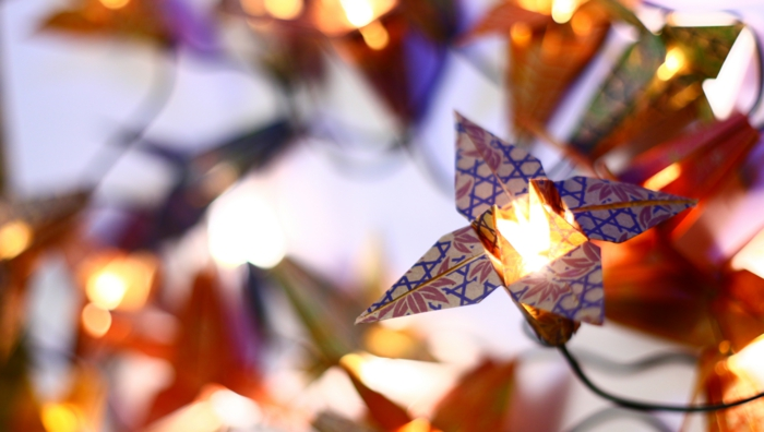 lampe en forme de fleur