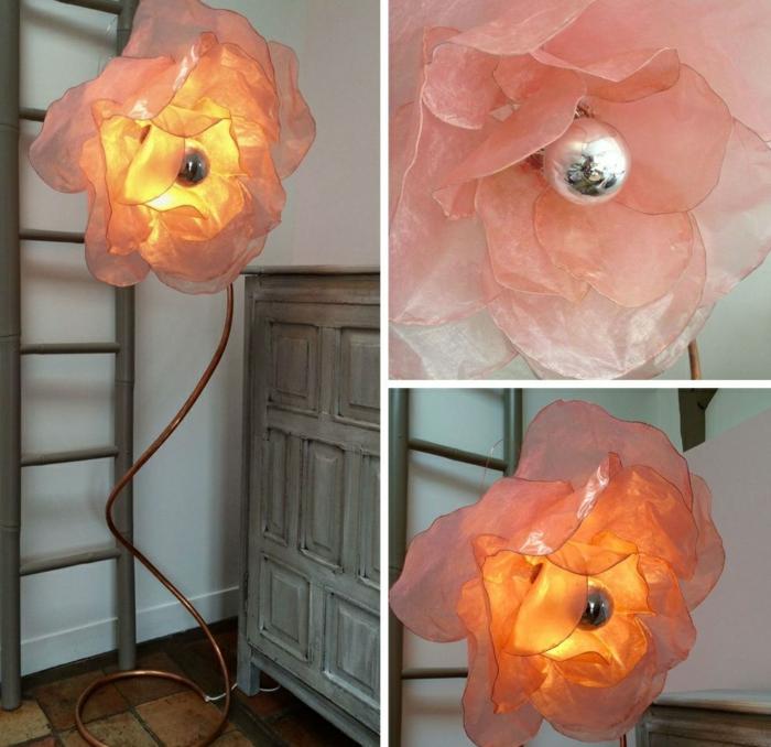 lampe fleur de grande taille