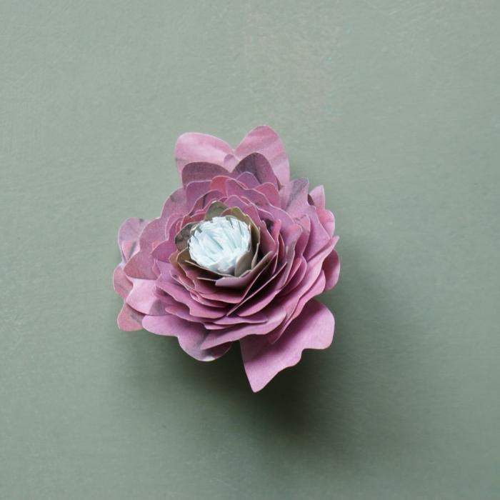 lampe fleur rose