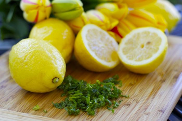 pour l'été recette citronnade à la menthe