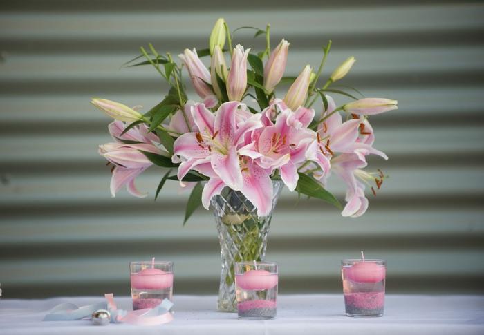 lilies bougieé parfumée