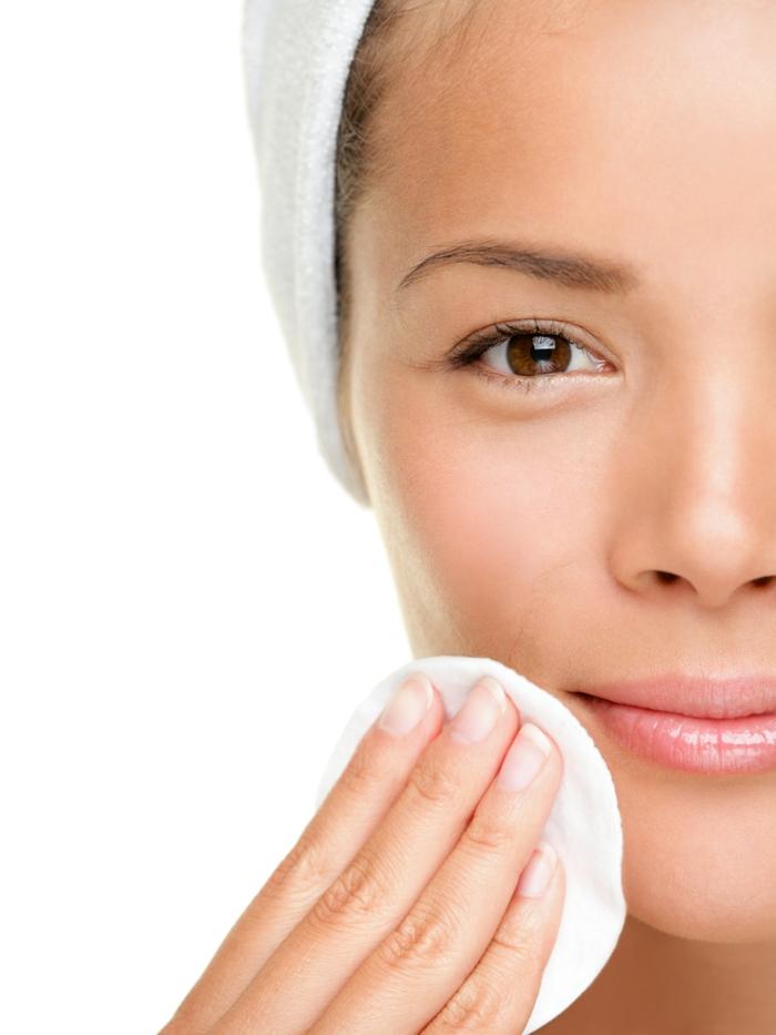 huile visage avant maquillage