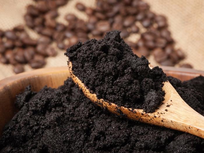 le marc de café est un engrais organique