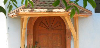 marquise de porte
