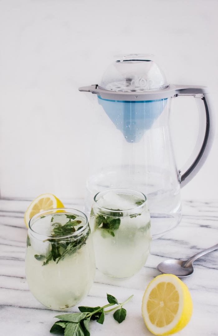 menthe et citron recette citronnade