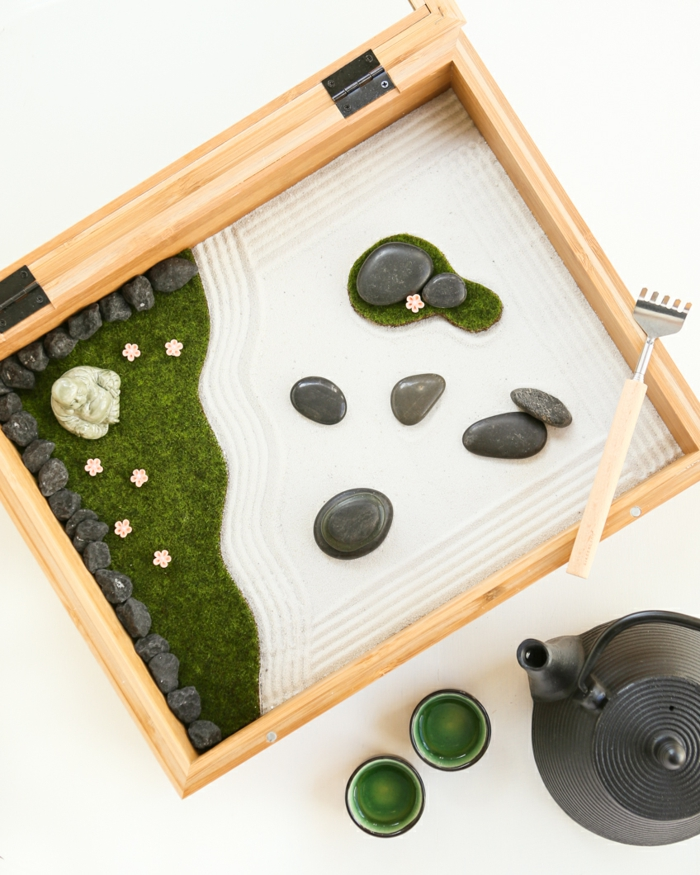 Diy Un Jardin Zen Miniature Pour D Corer La Pi Ce Et Relaxer
