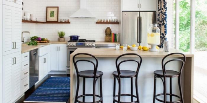 modèle de design chaise haute cuisine