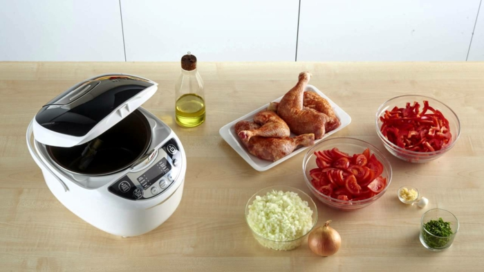 multicuiseur pour préparer vite les repas