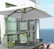 parasol mural pour ombrager votre tarrasse ou balcon. Black Bedroom Furniture Sets. Home Design Ideas