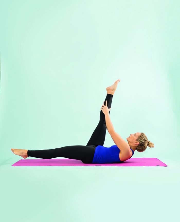 étirement pilates exercices
