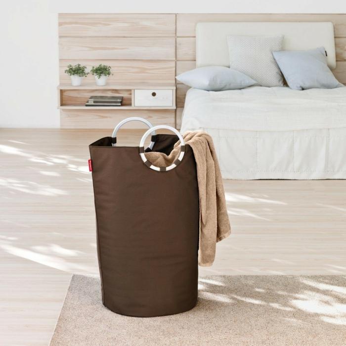 décorer la chambre à coucher avec style avec ce modèle de panier à linge