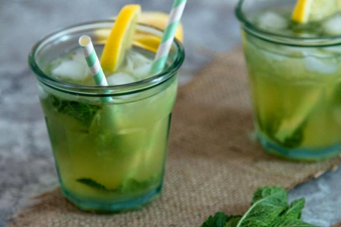recette citronnade à la menthe