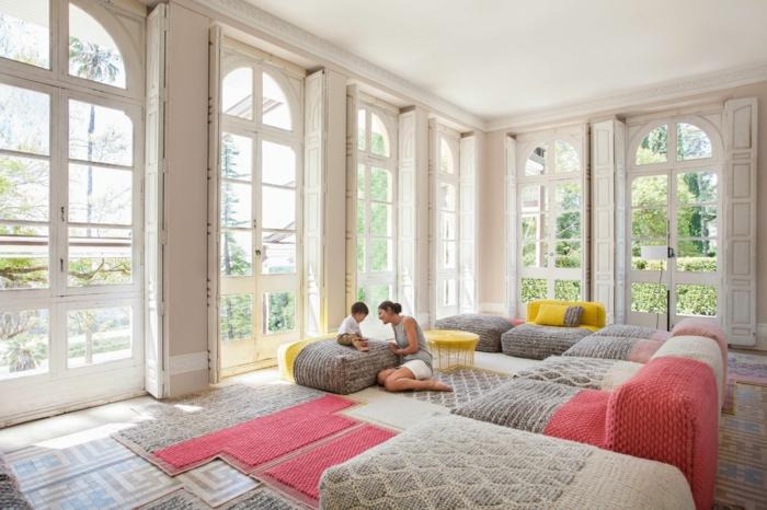 salon moderne et très joli