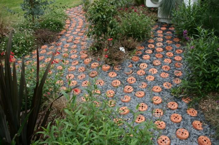 sentier jardin original