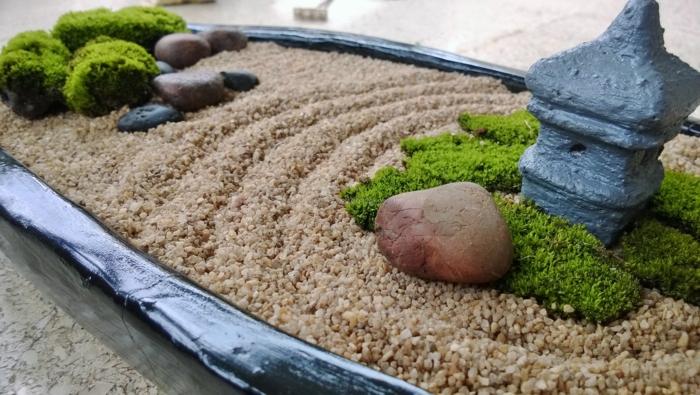 très joli et itéressant jardin zen miniature