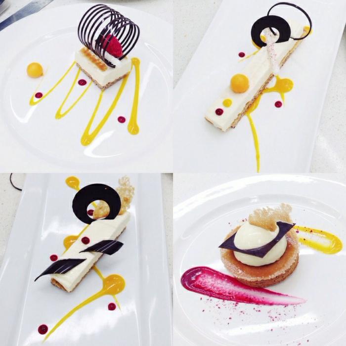décorer une assiette accessoire cuisine