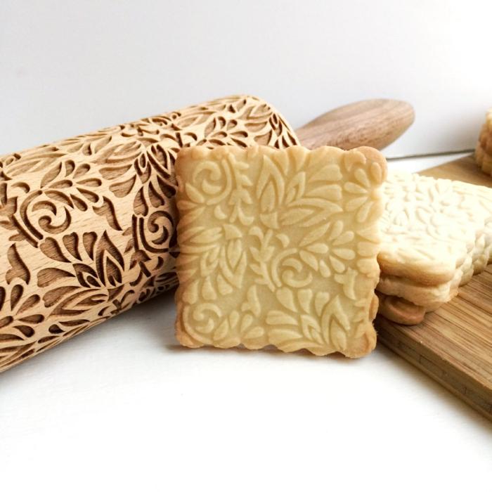 accessoire cuisine -rouleau en bois