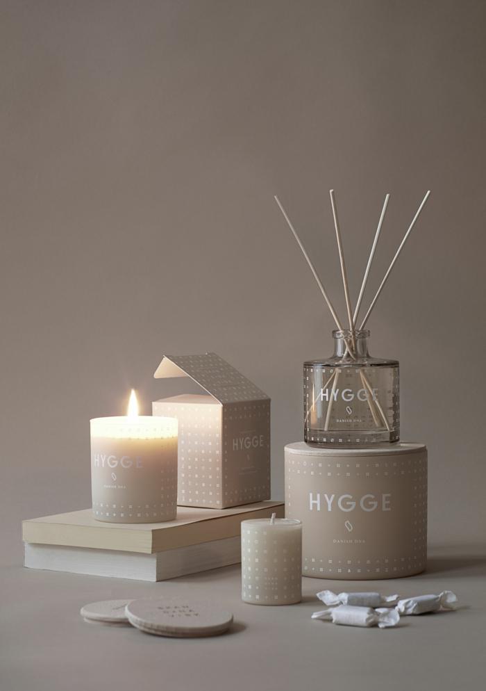 bougies hygge style