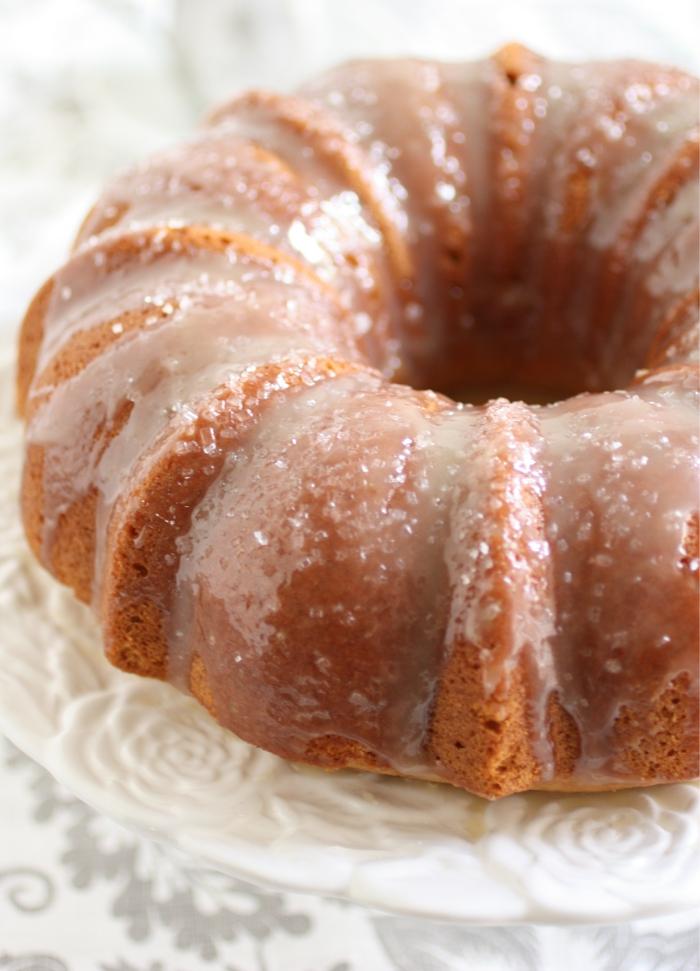 cake avec caramel au beurre salé