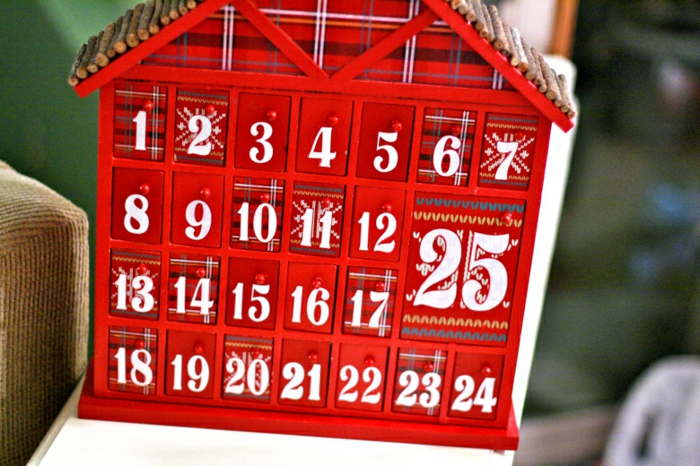 calendrier avent cabane