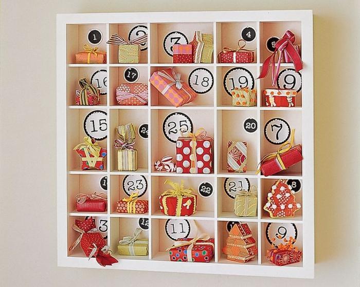 ide cadeau calendrier de l avent adulte beautiful des idees pour fabriquer un calendrier de. Black Bedroom Furniture Sets. Home Design Ideas