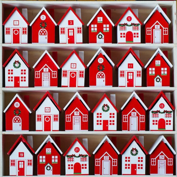 calendrier petites maisons