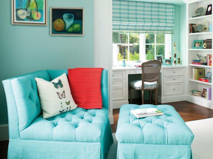chambre fille en couleur jolie