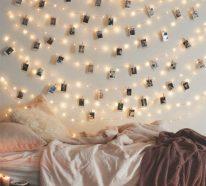 guirlande lumineuse pour une atmosphre chaleureuse - Guirlande Lumineuse Deco Chambre