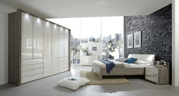 chambre design scandinave