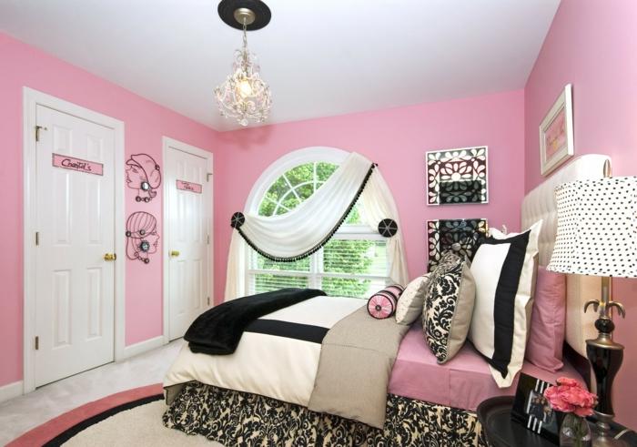 chambre moderne en rose chambre ado fille