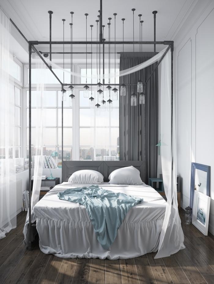 chambre scandinave lumineuse