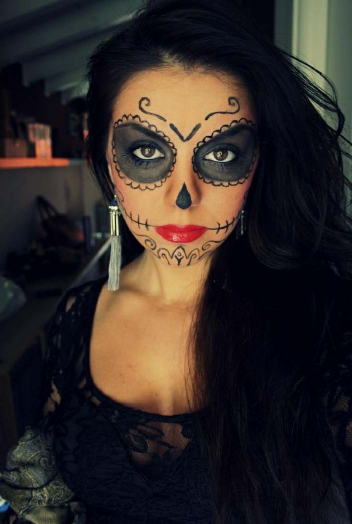 comment choisir son maquillage halloween femme