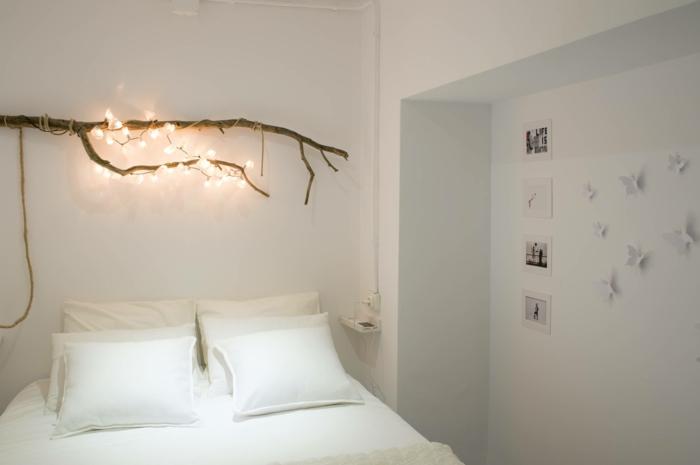 comment décorer votre chambre guirlande lumineuse