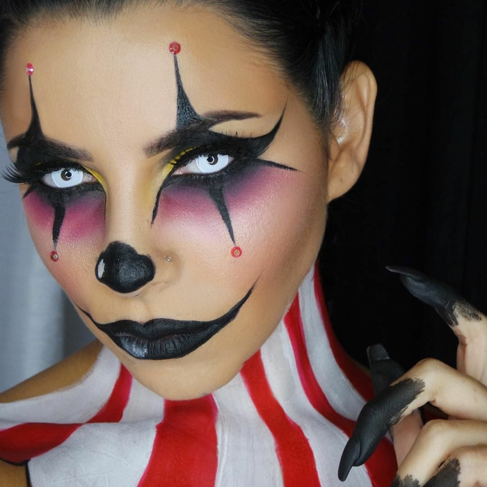 comment-faire-un-maquillage-halloween-femme