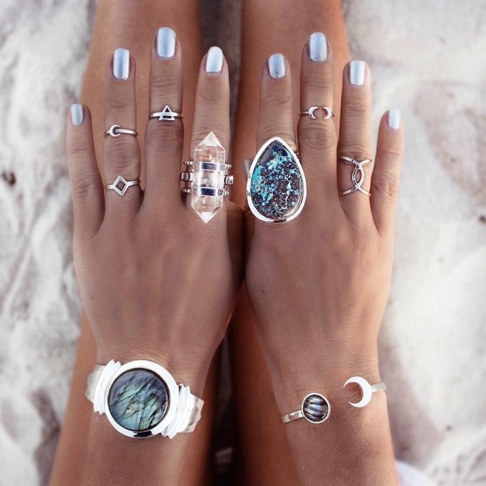 bagues et bracelets - diy rangement bijoux