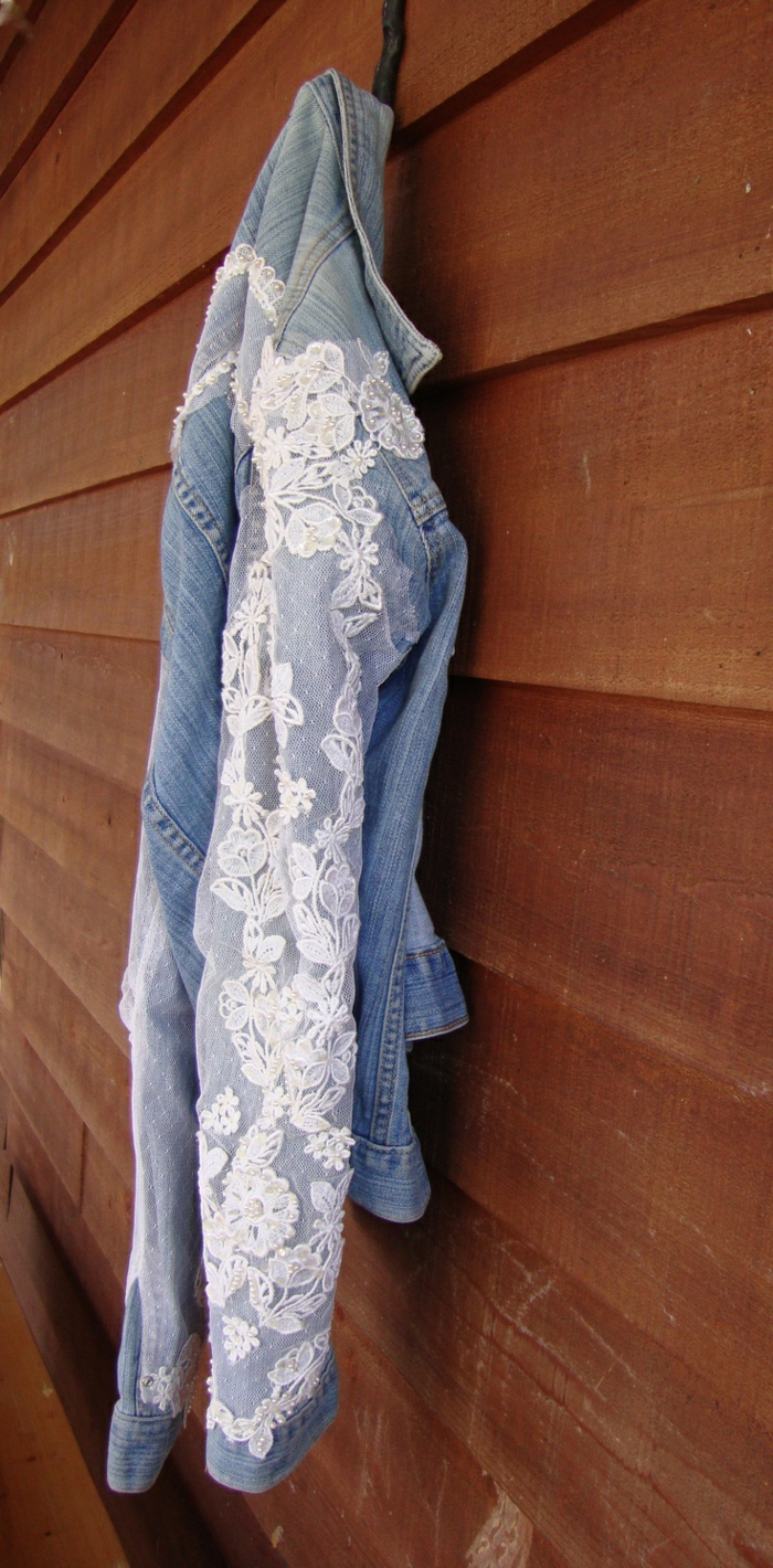 décoration tendance dentelle pour les vêtements