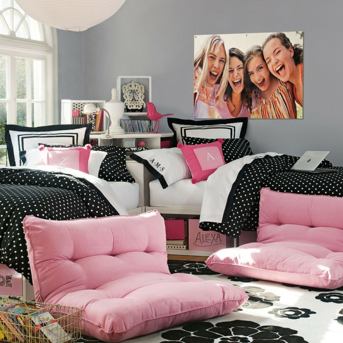 id es d co pour une chambre ado fille design et moderne. Black Bedroom Furniture Sets. Home Design Ideas