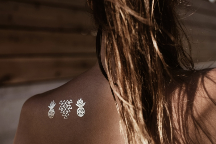 dos tatouage