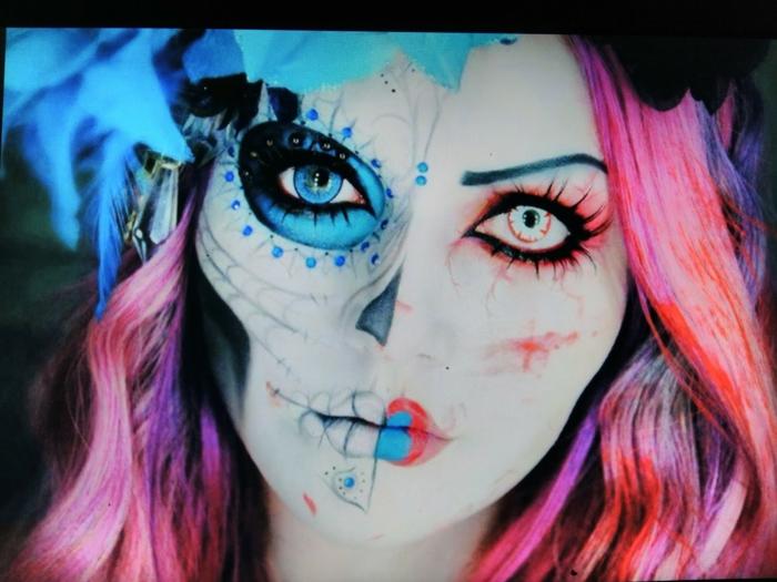 halloween idées maquillage halloween femme