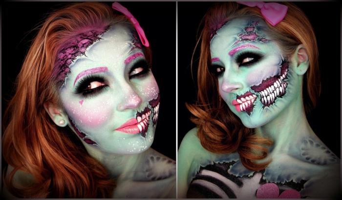 Id es maquillage halloween femme pour s 39 inspirer - Comment faire un maquillage de clown qui fait peur ...