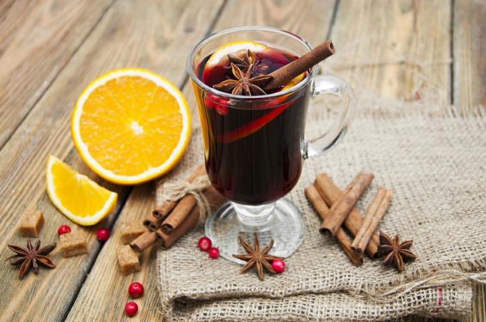 hygge boisson chaude vin aromatisé