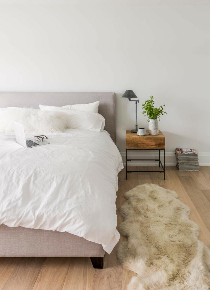 hygge idée chambre à coucher