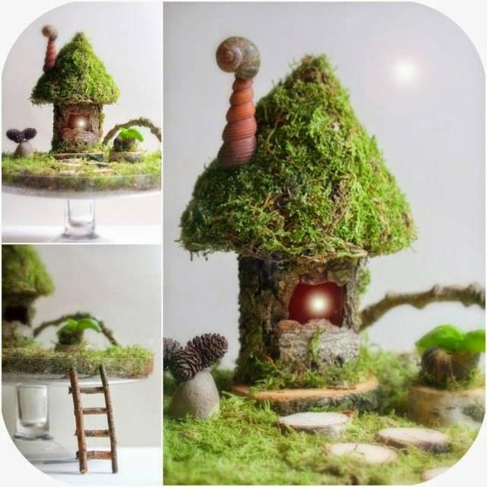 idée maison de fée