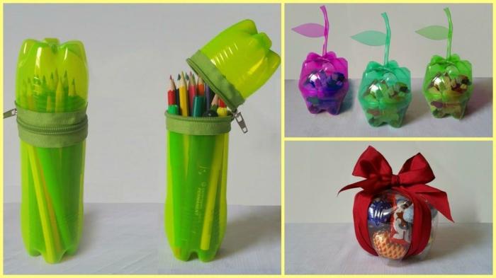 idées avec bouteille plastique