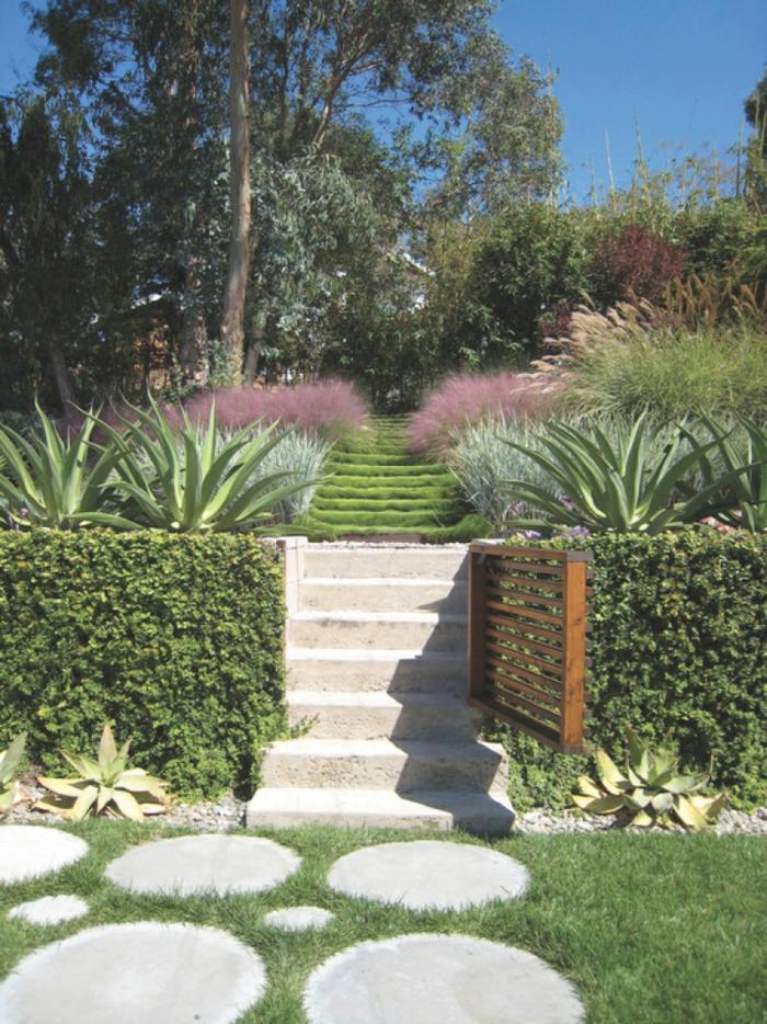 jardin en talus